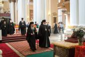 Предстоятель Иерусалимской Православной Церкви посетил святые места Санкт-Петербурга