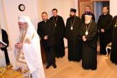 Представители Московского Патриархата вместе с членами Комитета Православных Церквей при Евросоюзе встретились с Патриархом Румынским Даниилом в ходе его визита в Брюссель