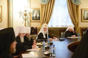 Слово Святейшего Патриарха Кирилла на заседании Высшего Церковного Совета