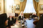 Слово Святейшего Патриарха Кирилла на заседании Высшего Церковного Совета 22 ноября 2013 года