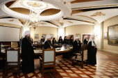 Предстоятель Русской Церкви возглавил очередное заседание Высшего Церковного Совета