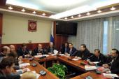 Представители Церкви приняли участие в работе Межфракционной депутатской группы Госдумы в защиту христианских ценностей