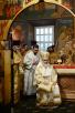 Патриаршее служение в храме Сошествия Святого Духа в пос. Первомайское г. Москвы. Хиротония архимандрита Митрофана (Баданина) во епископа Североморского и Умбского