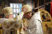 Слово Святейшего Патриарха Кирилла при вручении архиерейского жезла Преосвященному Митрофану (Баданину), епископу Североморскому и Умбскому