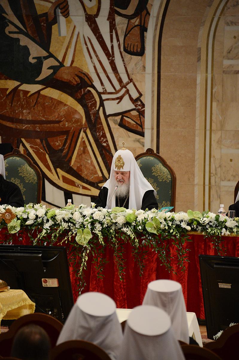 Архиерейский Собор Русской Православной Церкви. Второй день работы (3 февраля 2013 г.)