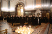 Архиерейский Собор Русской Православной Церкви. Божественная литургия в третий день работы