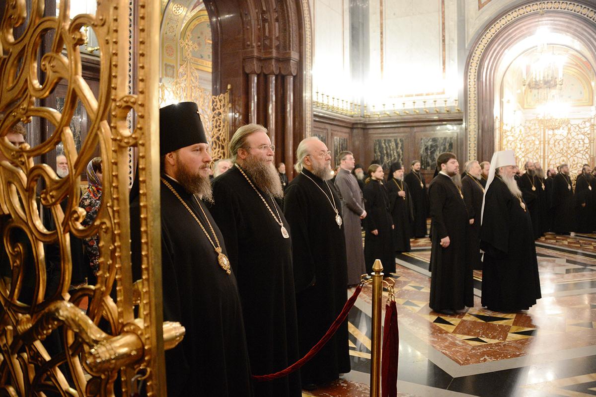 Архиерейский Собор Русской Православной Церкви. Божественная литургия в заключительный день работы