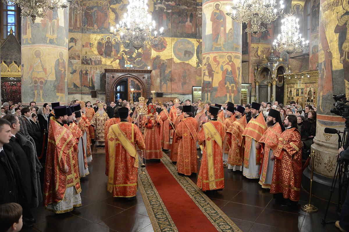 Патриаршее служение в день Собора новомучеников и исповедников ...