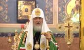 Слово Святейшего Патриарха Кирилла в день памяти святителя Николая Чудотворца после Божественной литургии в Николо-Угрешском монастыре