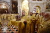 Божественная литургия в Храме Христа Спасителя в четвертую годовщину интронизации Святейшего Патриарха Кирилла