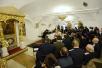 Встреча Святейшего Патриарха Кирилла с атаманами реестровых казачьих войск России, Украины и Белоруссии