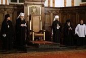 Делегация Русской Православной Церкви присутствовала на вечерне в католическом кафедральном соборе Варшавы