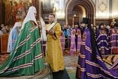 Слово Святейшего Патриарха Кирилла при вручении архиерейского жезла Преосвященному Алексию (Муляру), епископу Саянскому и Нижнеудинскому