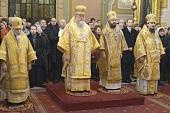 Члены делегации Русской Православной Церкви сослужили Блаженнейшему Митрополиту Варшавскому Савве за Литургией в кафедральном соборе Варшавы