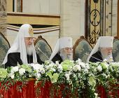 Святейший Патриарх Кирилл: Цель межрелигиозного диалога— совместное противостояние безнравственности, агрессивному безбожию и межнациональной вражде