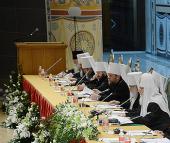 Святейший Патриарх Кирилл сообщил о развитии межправославных отношений в межсоборный период