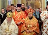 Митрополит Волоколамский Иларион возглавил торжества по случаю престольного праздника московского подворья Православной Церкви в Америке