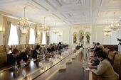 Состоялась встреча Святейшего Патриарха Кирилла с представительницами Всеукраинской общественной организации «Союз православных женщин»