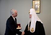 Состоялась встреча Святейшего Патриарха Кирилла с министром социальных ресурсов Венгрии З. Балогом