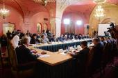 Святейший Патриарх Кирилл возглавил третье заседание Попечительского совета Фонда поддержки строительства храмов г. Москвы