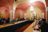 Предстоятель Русской Церкви возглавил итоговое заседание Палаты попечителей Патриаршей литературной премии