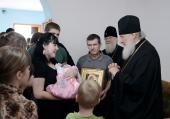 Предстоятель Русской Церкви посетил дома жителей Крымска, пострадавших от наводнения