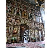 В Великий вторник Предстоятель Русской Церкви совершил Литургию Преждеосвященных Даров в Высоко-Петровском ставропигиальном монастыре