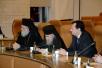 Визит Святейшего Патриарха Кирилла в Иерусалимский Патриархат. Встреча с мэром Иерусалима Ниром Баркатом