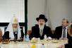 Визит Святейшего Патриарха Кирилла в Иерусалимский Патриархат. Встреча с верховным раввином Израиля (ашкенази) Йоной Мецгером