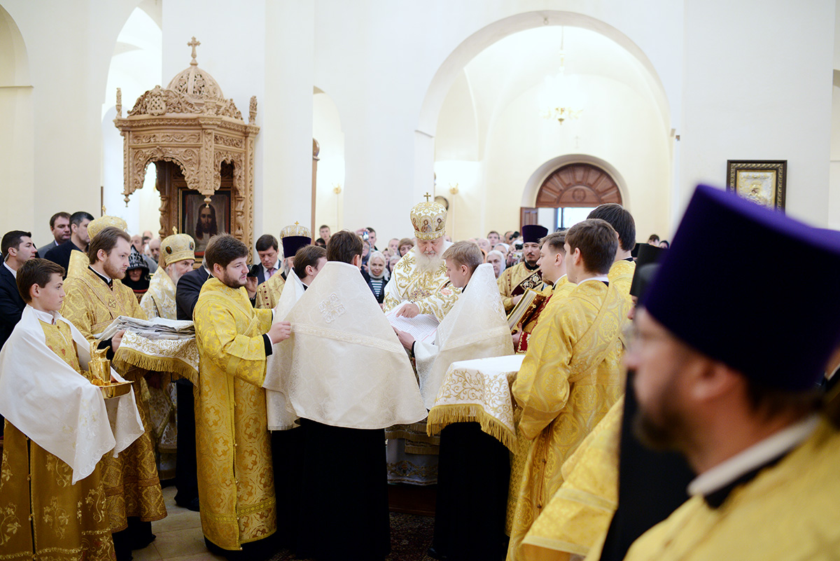 Визит Святейшего Патриарха Кирилла в Иерусалимский Патриархат. Освящение собора Горненского монастыря в Иерусалиме