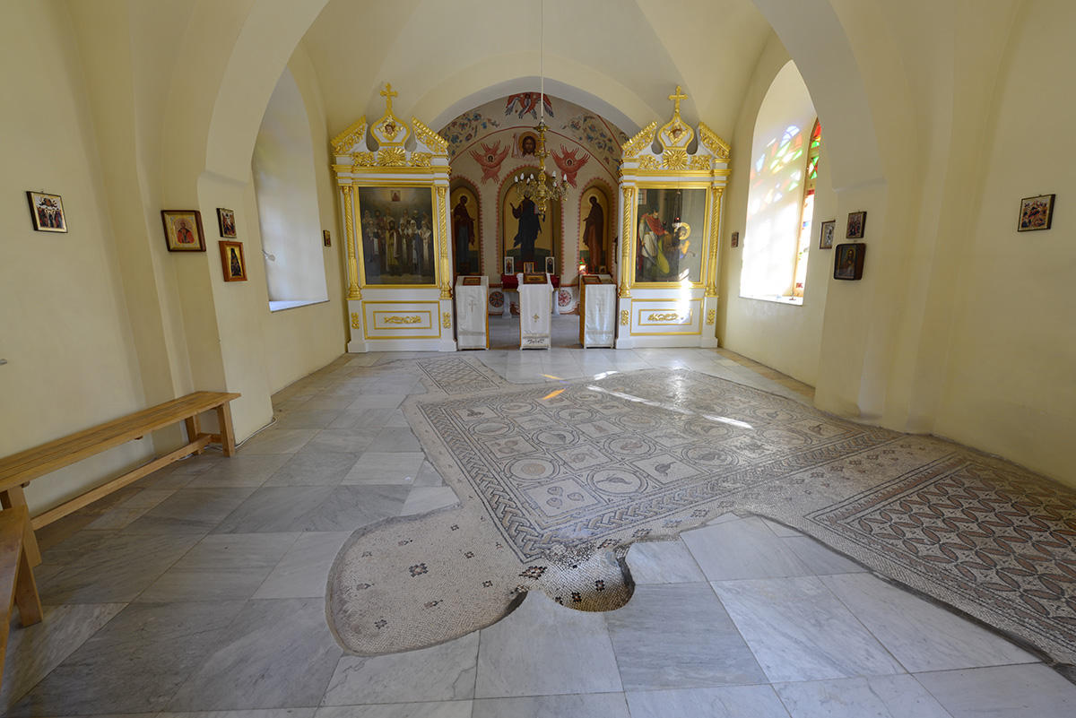 Визит Святейшего Патриарха Кирилла в Иерусалимский Патриархат. Посещение монастыря св. Марии Магдалины в Гефсимании и Спасо-Вознесенского монастыря на горе Елеон