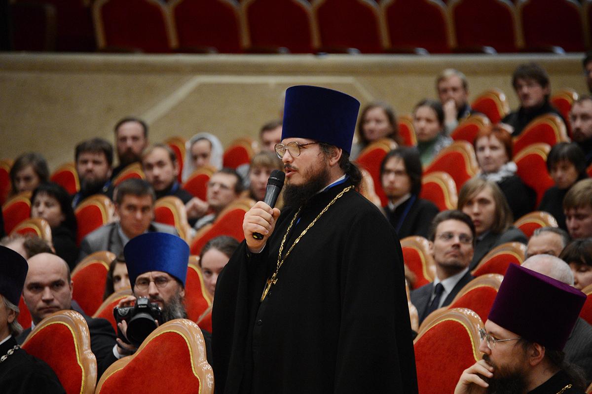 Встреча Святейшего Патриарха Кирилла с участниками V фестиваля православных СМИ «Вера и слово»