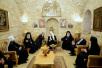 Визит Святейшего Патриарха Кирилла в Иерусалимский Патриархат. Посещение базилики Рождества Христова в Вифлееме