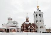 Митрополит Крутицкий Ювеналий освятил Богоявленский храм Николо-Пешношского монастыря