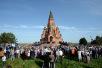 Первосвятительский визит в Красноярскую митрополию. Посещение Андреевского храма и Крестовоздвиженского собора в Лесосибирске
