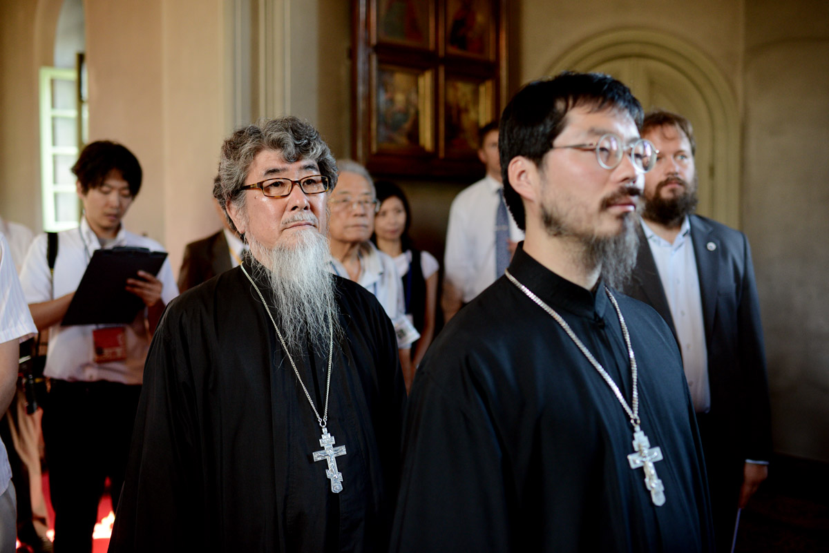 Первосвятительский визит в Японию. Посещение Воскресенского храма г. Хакодате