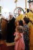 Первосвятительский визит в Японию. Посещение кафедрального собора Сендайской епархии. Возложение цветов к памятнику жертвам цунами в районе Арахама