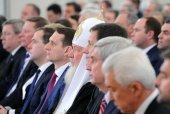 Святейший Патриарх Кирилл присутствовал на оглашении ежегодного Послания Президента Российской Федерации Федеральному Собранию