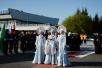 Первосвятительский визит в Красноярскую митрополию. Прибытие в Красноярск. Посещение Покровского собора