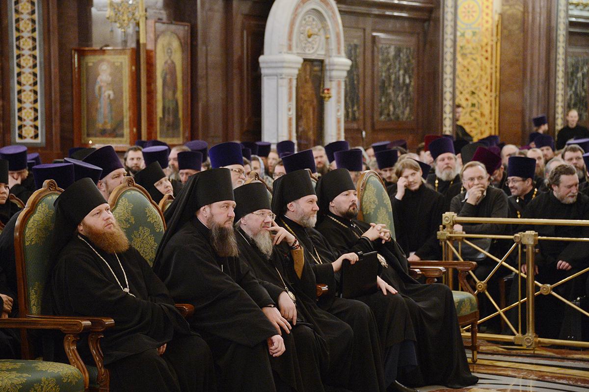 Епархиальное собрание г. Москвы