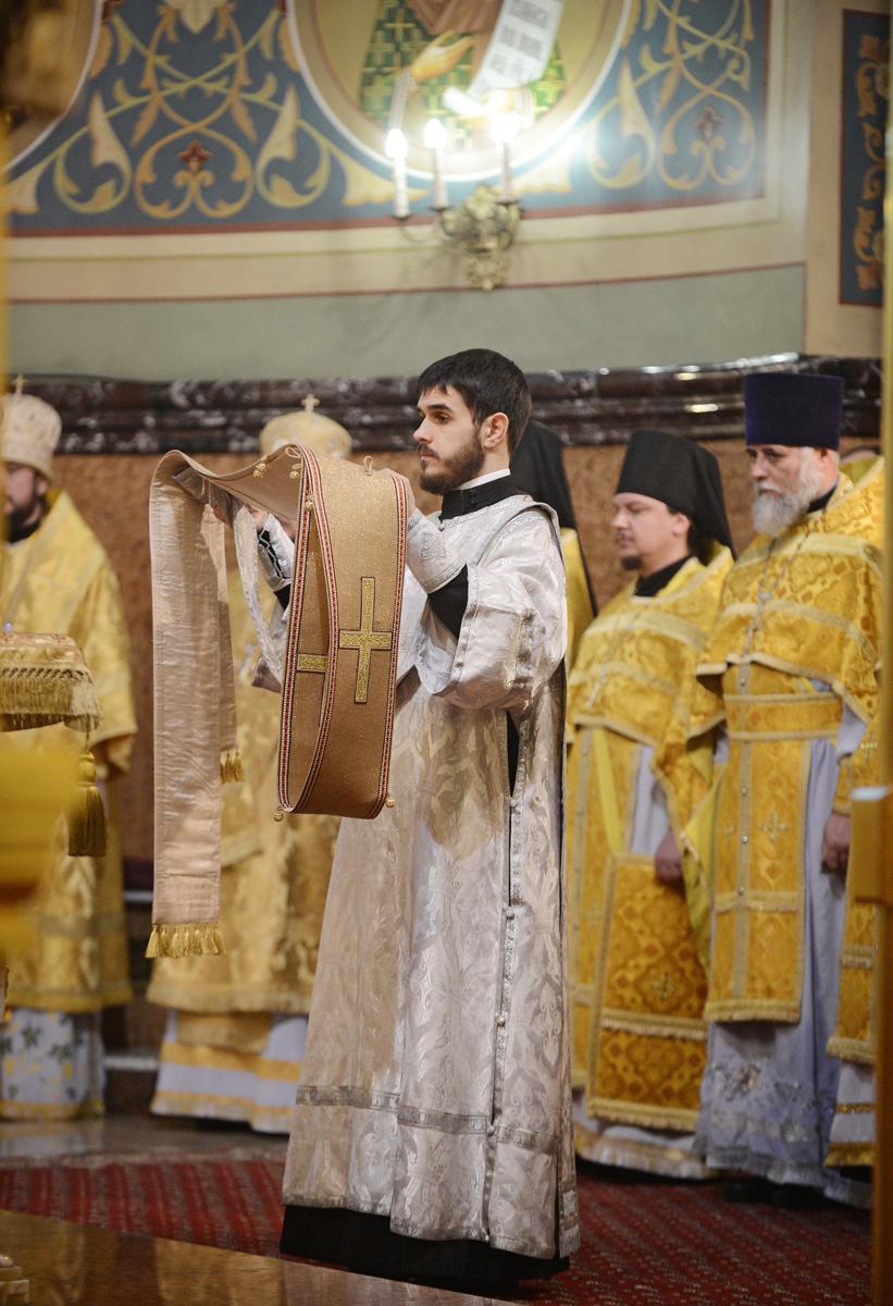 Патриаршее служение в Николо-Угрешском монастыре в день памяти святителя Николая Чудотворца