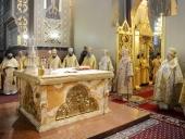 В день памяти святителя Николая Чудотворца Святейший Патриарх Кирилл совершил Литургию в Николо-Угрешском монастыре