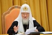 Святейший Патриарх Кирилл: Я глубоко убежден в правильности решения о создании викариатств