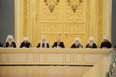 Президент Российской Федерации встретился с участниками Архиерейского Собора Русской Православной Церкви