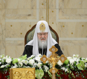 Святейший Патриарх Кирилл: Главные задачи, которые стоят сегодня перед Церковью, были определены Поместным Собором 2009 года