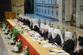 Святейший Патриарх Кирилл: Церковь всегда будет давать общественным процессам нравственную оценку и призывать участников любых противостояний к взаимоуважению и мирному диалогу