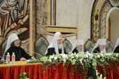Святейший Патриарх Кирилл: За созданием молодежной организации должна стоять пастырская задача— научение молодого поколения жизни по евангельским заповедям