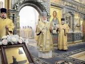 Предстоятель Русской Церкви возглавил торжества по случаю престольного праздника Зачатьевского ставропигиального монастыря