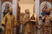 Глава Среднеазиатского митрополичьего округа возглавил торжества в честь 70-летия основания Свято-Никольского кафедрального собора г. Душанбе