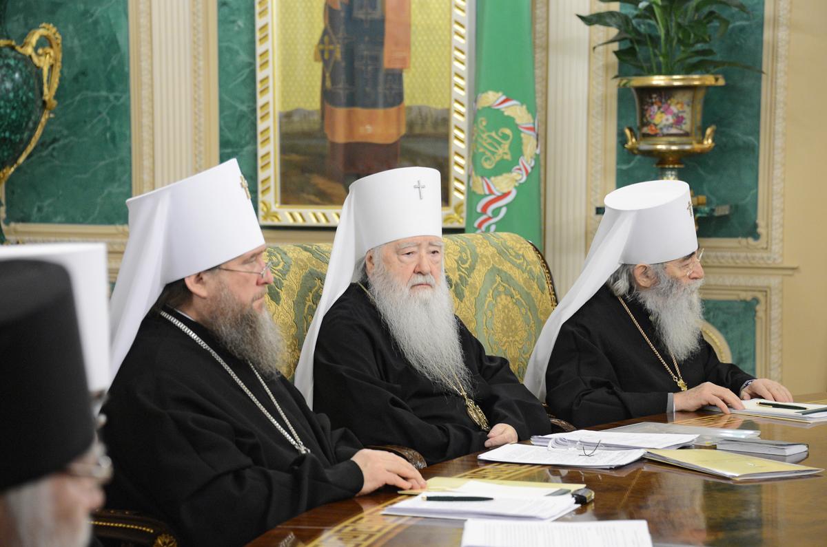 Заседание Священного Синода Русской Православной Церкви 30 января 2013 года